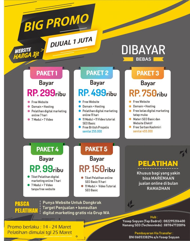 lis paket digital marketing